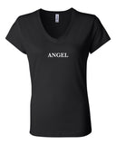 Womens Angel Vneck Tee