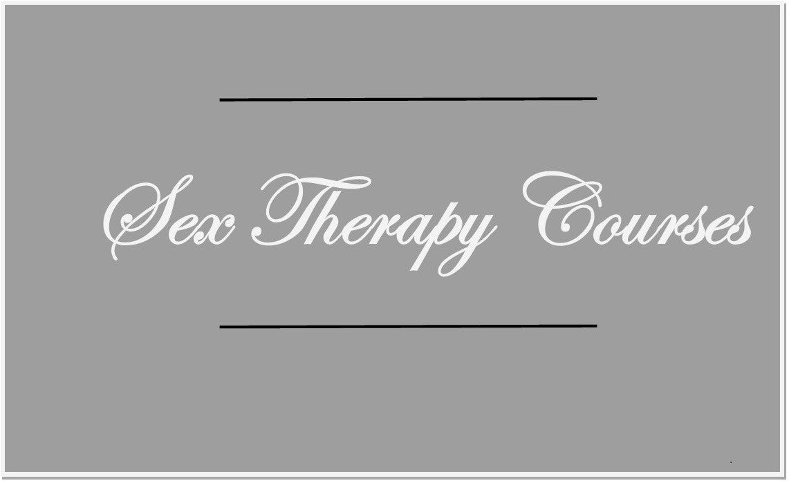 Sex Therapy Courses & Training