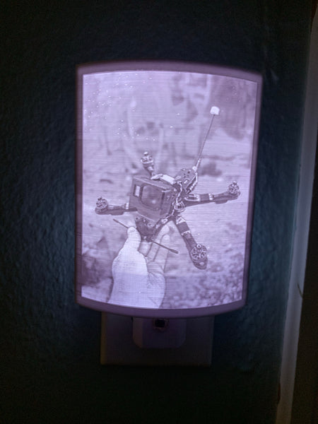 3D Printed Night Light Lithophane