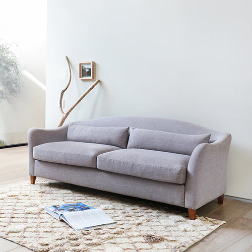 Capsule Collin Sofa in Grey Tweed