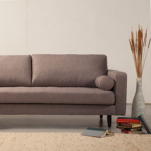 Kelly's Freeman Sofa in Grey Tweed