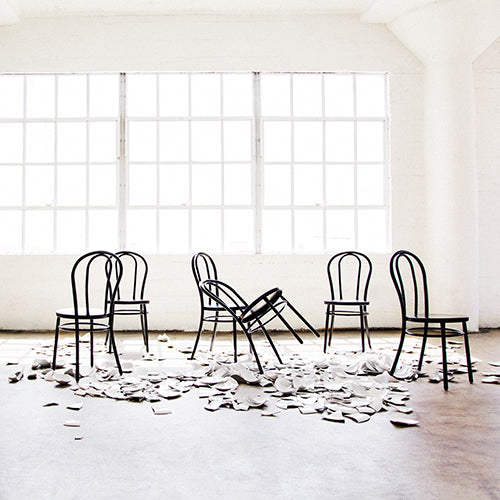 Capsule Photoshoot of Marie Chairs, a modern rendition of the classic bentwood chair