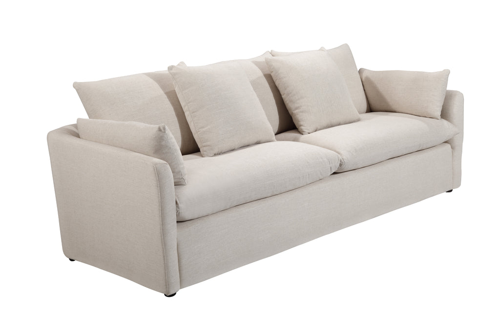 103LNWHT,Cameron Sofa in White Linen