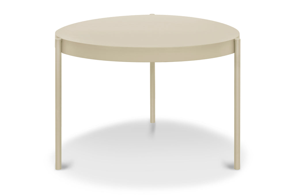 157BLK,Ovoid Coffee Table  Small In Black Finish