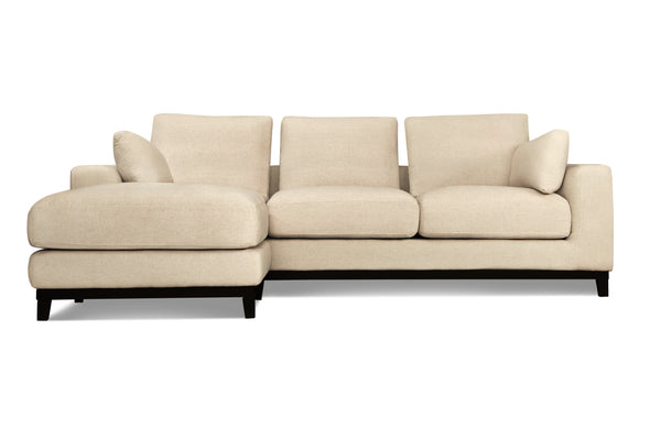 1023FTGRY,Kellan 100 Sectional Sofa In Grey Tweed