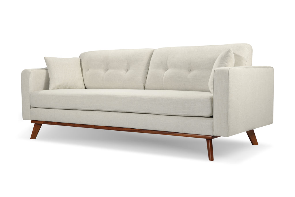 1018LNWHT,Frey Sofa in White Linen