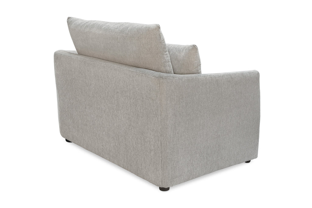 104FWLG,Cameron Armchair in Light Grey Weave