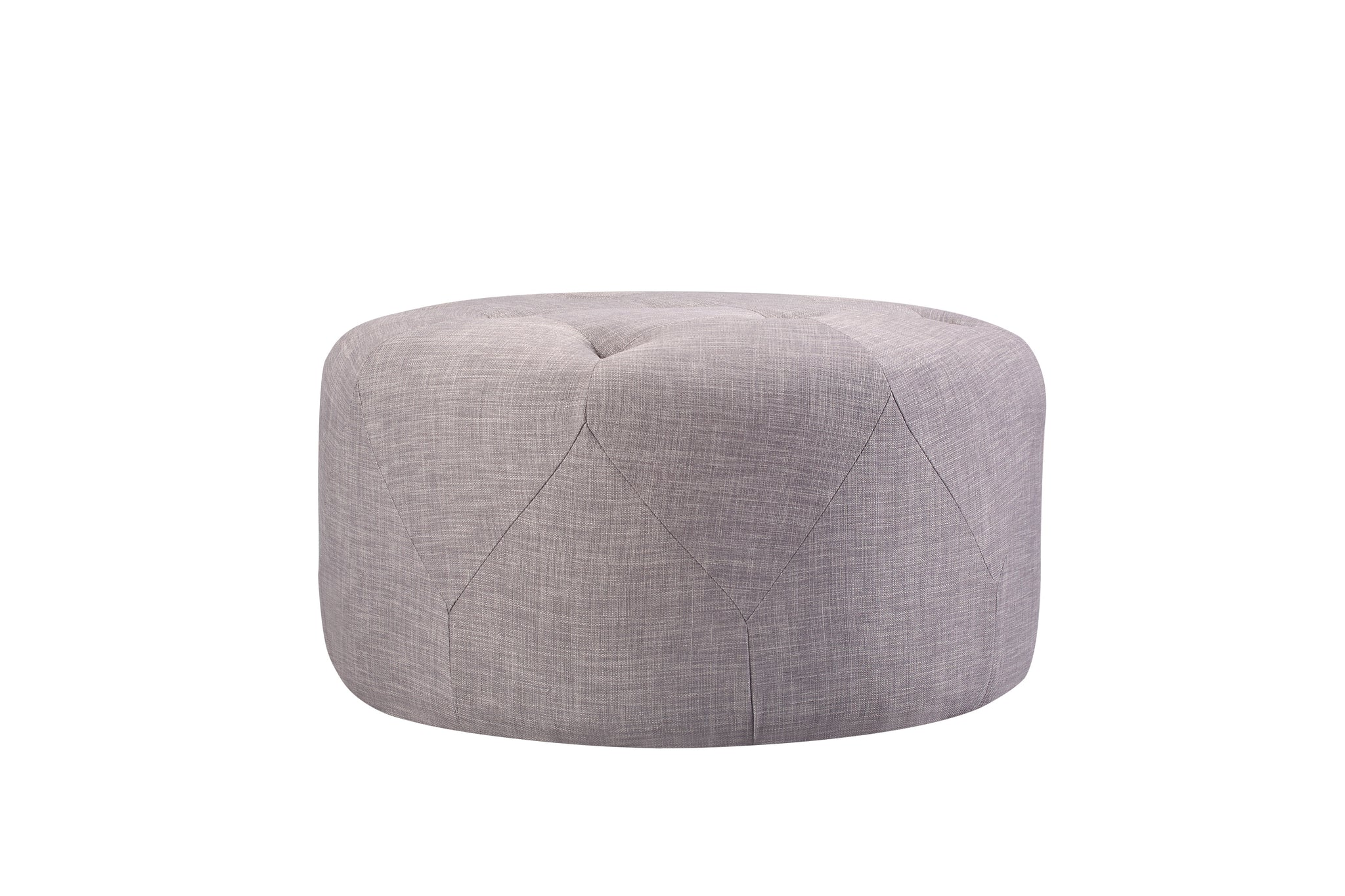 1210FTGRY,Freeman Medium Ottoman in Grey Tweed