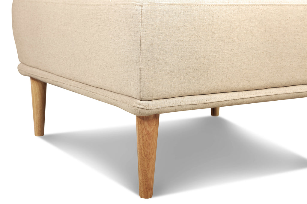 1024LNOAT3,Knook Ottoman In Oatmeal Linen