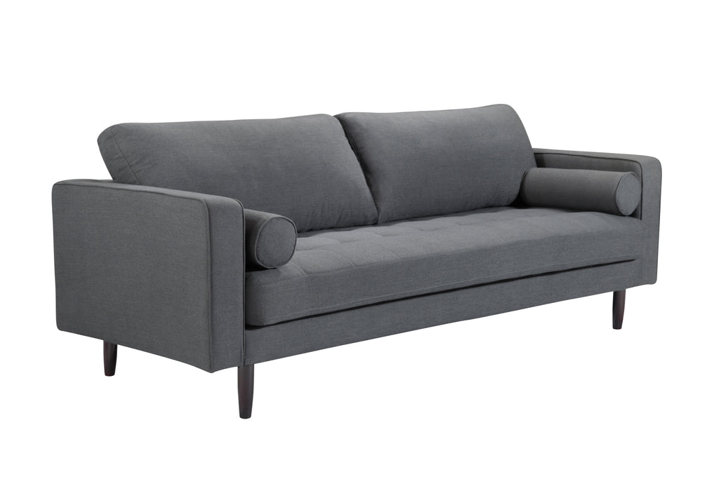 109LNCH,Freeman Sofa In Charcoal Blue Linen