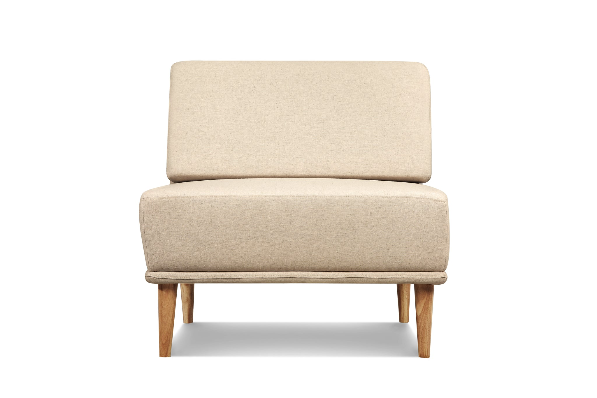 1024LNOAT1,Knook Single Chair In Oatmeal Linen