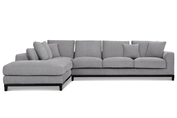 1011LNOATL,Kellan Sectional Sofa Left Chaise in Oatmeal Linen