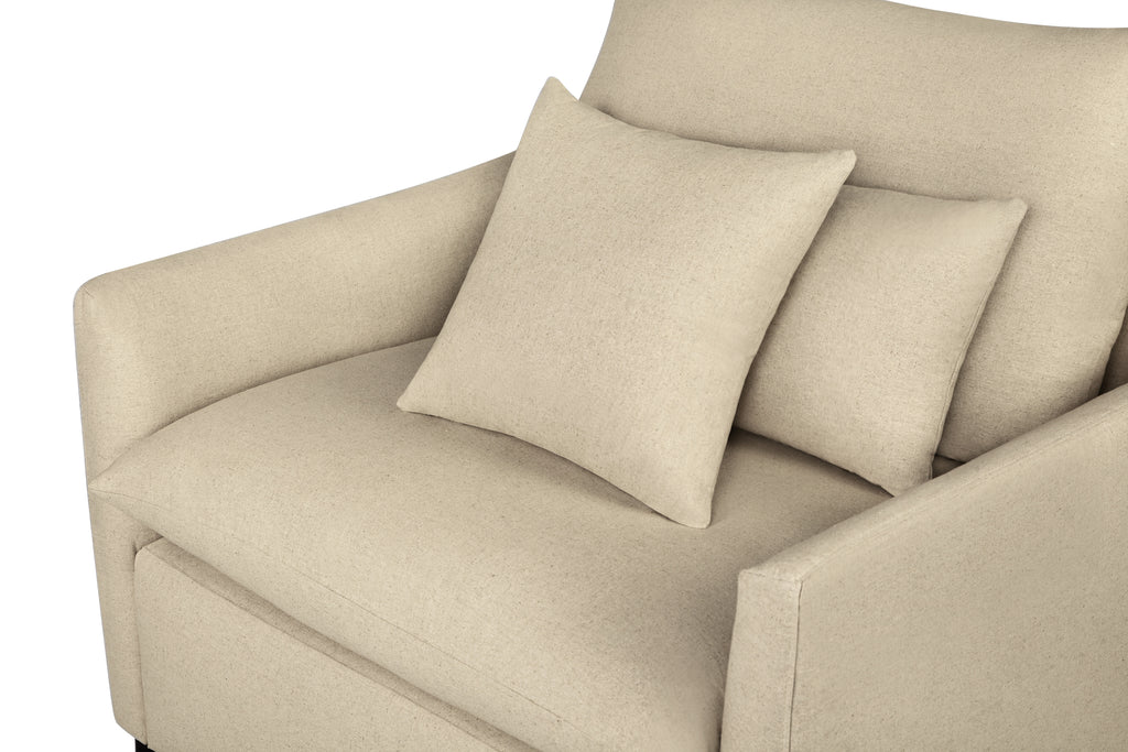 104LNOAT,Cameron Armchair in Oatmeal Linen