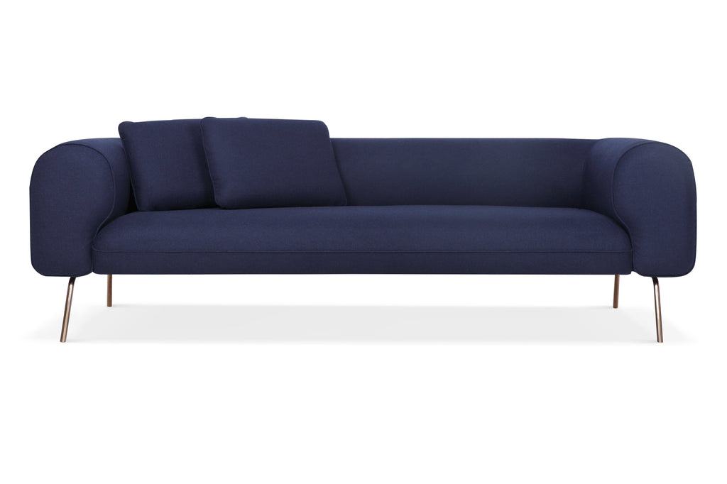 1027FLCRM,Big Arm Sofa in Cream Felt
