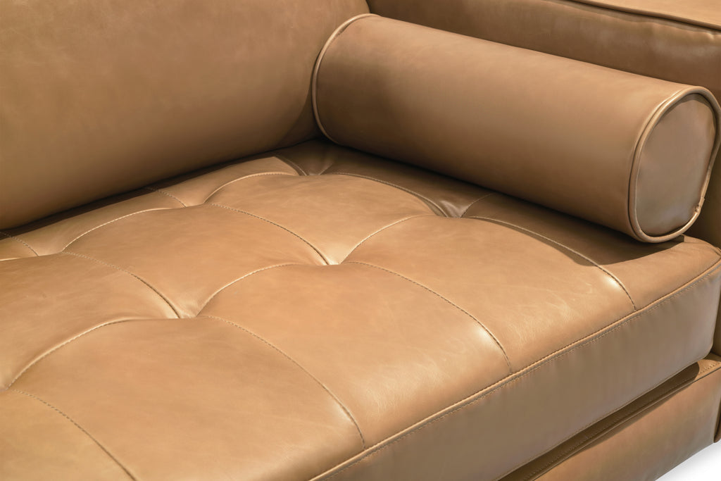 109LTHTAN,Freeman Sofa in Tan Leather