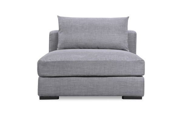 1037FTGRY,Remissa Single in Grey Tweed