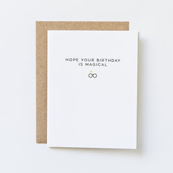 Magical Birthday Card