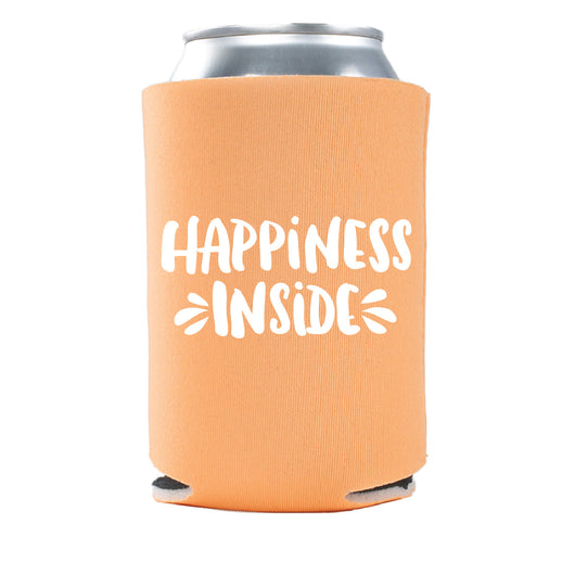 Happiness Inside Insulated Can Cooler