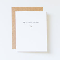 Anchors Away Icon Card