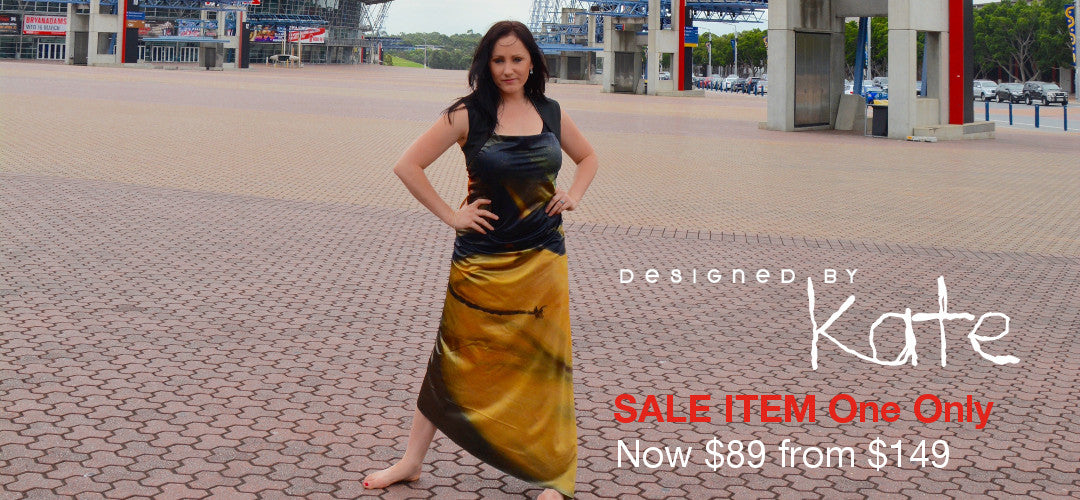 Sale Item One Only No-Fishtail Dress $89