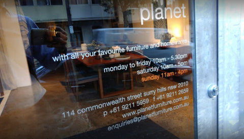 Planet Furniture Surry Hills
