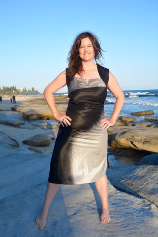 Photographic Banner Dress #1