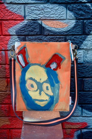 Original painting by artist Digby Webster laptop/shoulder bag