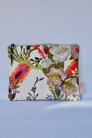Australian Native Floral iPad Bag