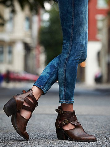 Overholt ankle bootie by jeffrey campbell