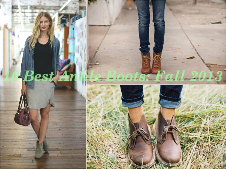 10 best ankle boots