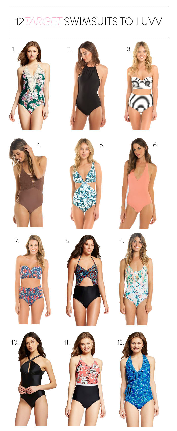 swimwear, swimsuits, one piece swimsuits, target,
