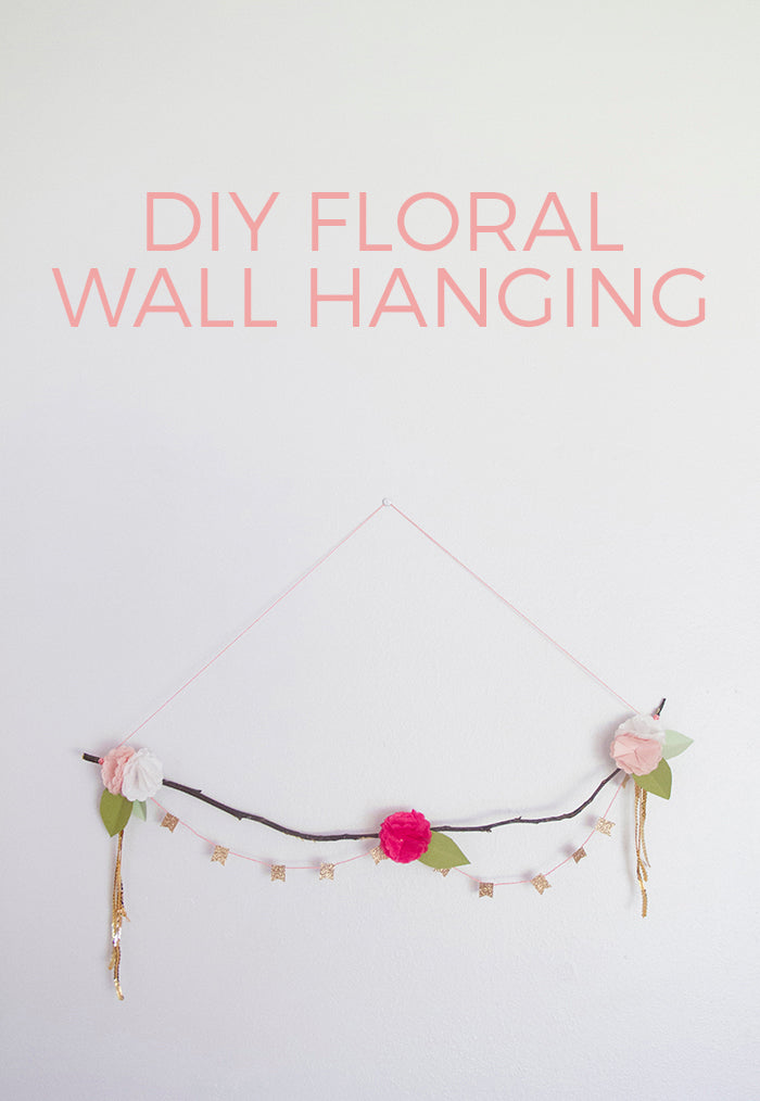 DIY Wall Hanging Hello Luvvy