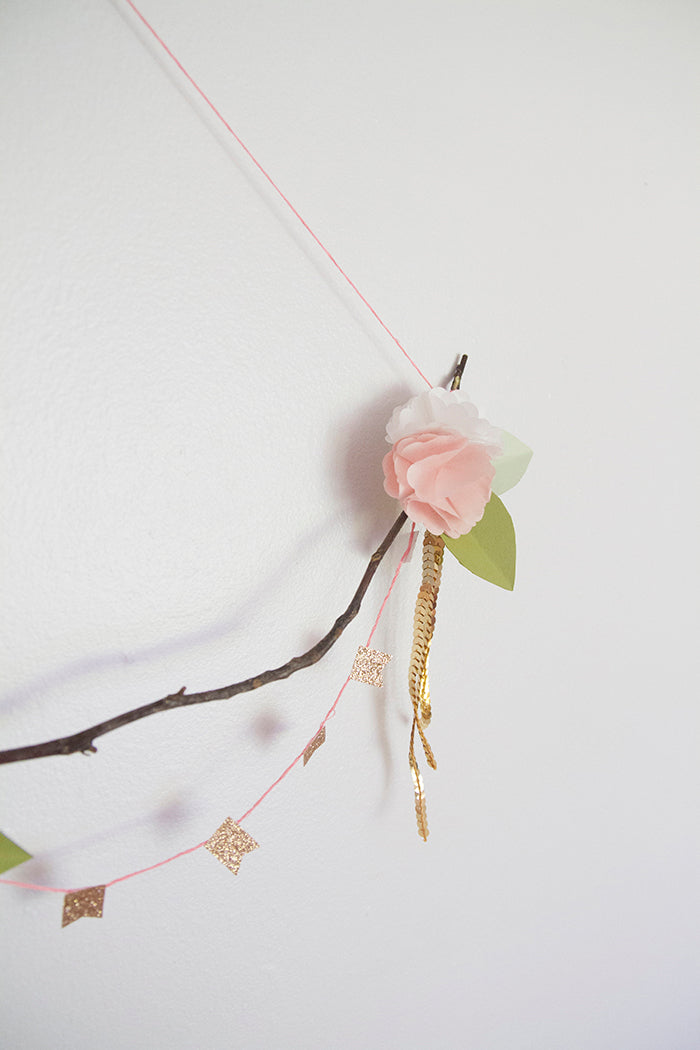 DIY Wall Hanging Hello Luvvy17