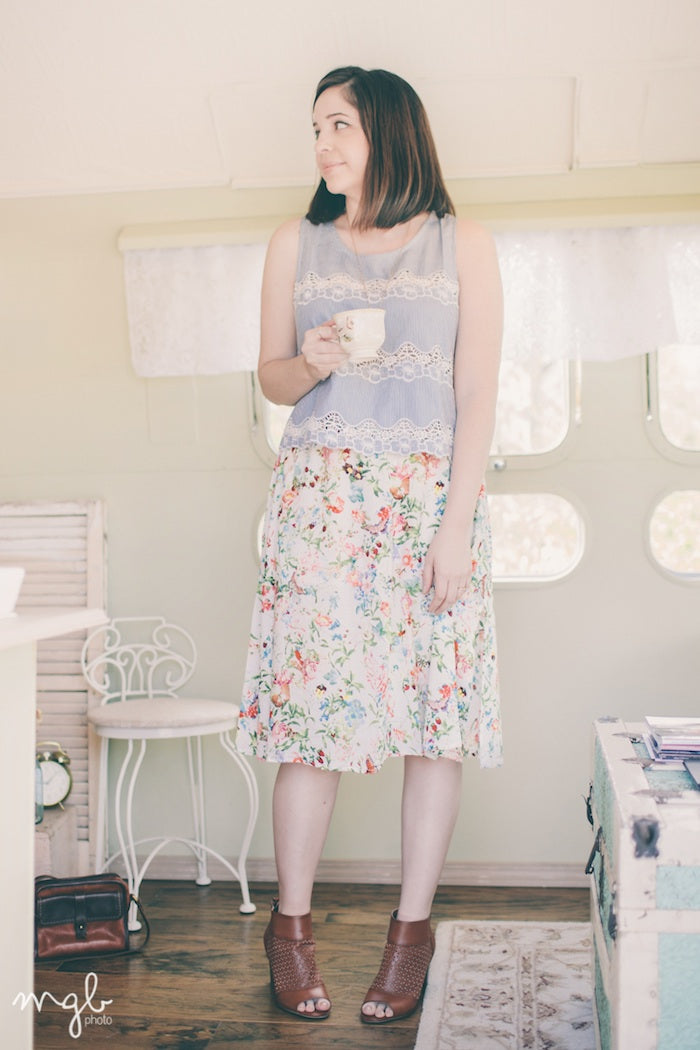 Spring Outfit-Hello Luvvy