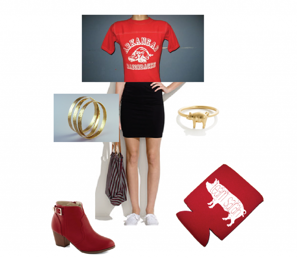 First Razorback Game Outfit-01