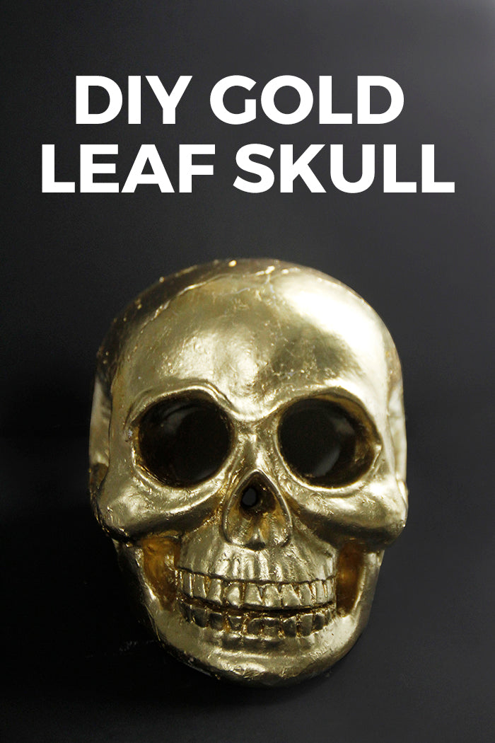 Gold Leaf Skull - Hello Luvvy7 copy