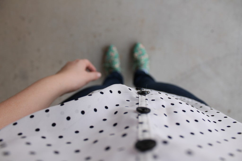 Polka dots and florals