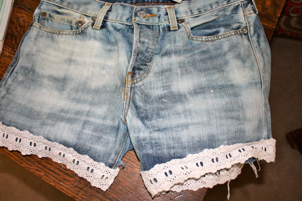 DIY bleach denim