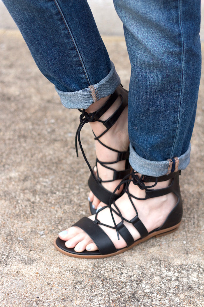 bc lace up sandals-hello luvvy