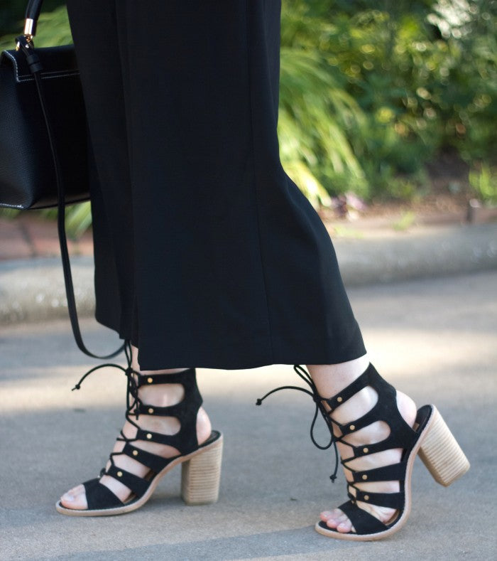 dolce vita lace-up heel