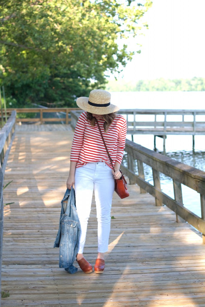 white denim outfit-hello luvvy