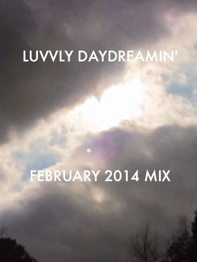 LUVVLYDAYDREAMIN, February 2014 mix, spotify playlist,