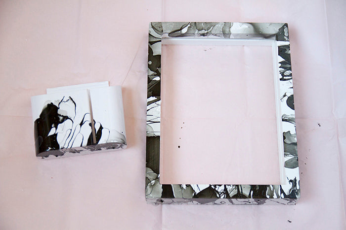 Marble dry erase board and marble marker holder7