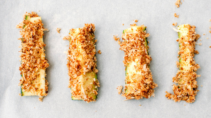 Southwest Baked Zucchini Fries