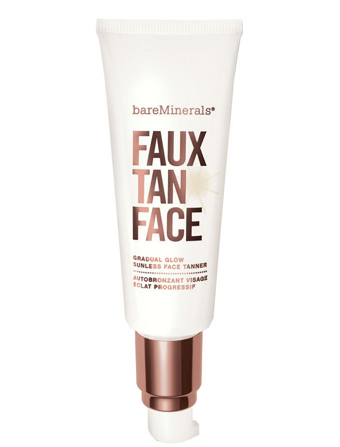 bare minerals faux tan face