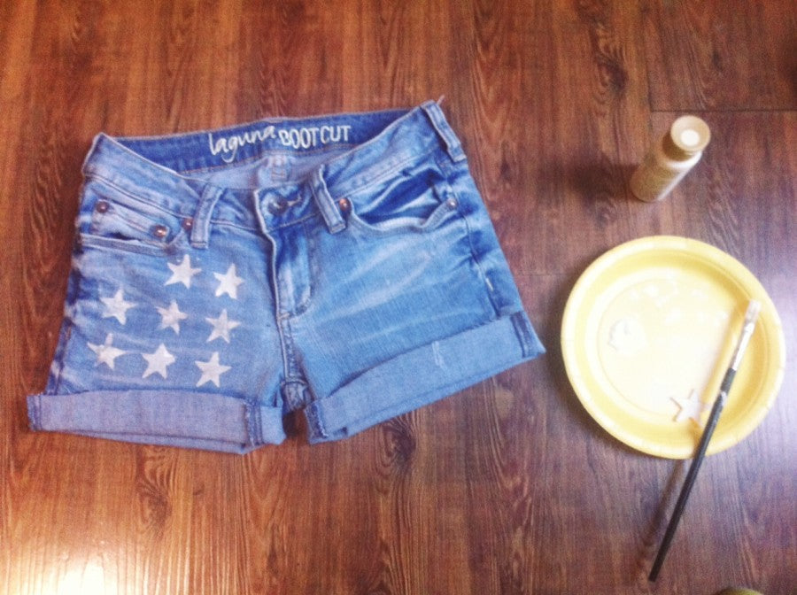 diy star cutoffs