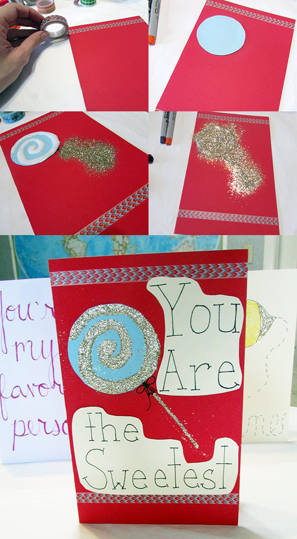 you are the sweetest valentine diy