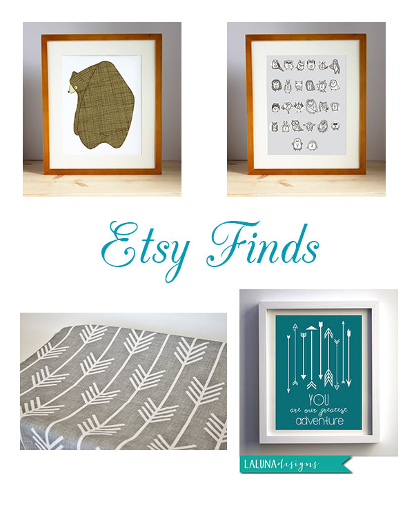 nursery etsy finds