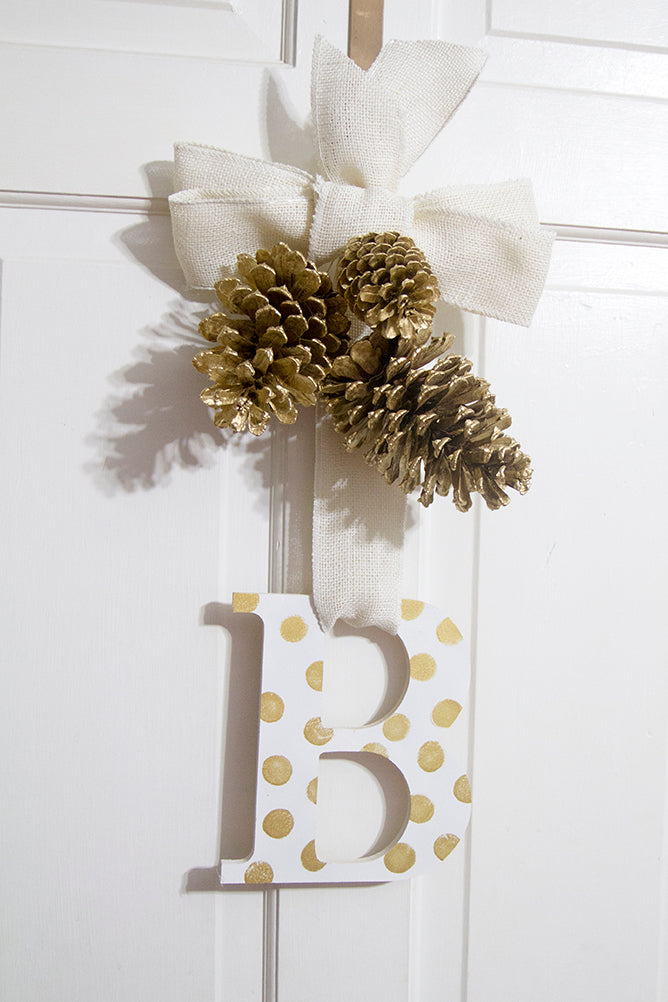 fall monogram door hanger hello luvvy13