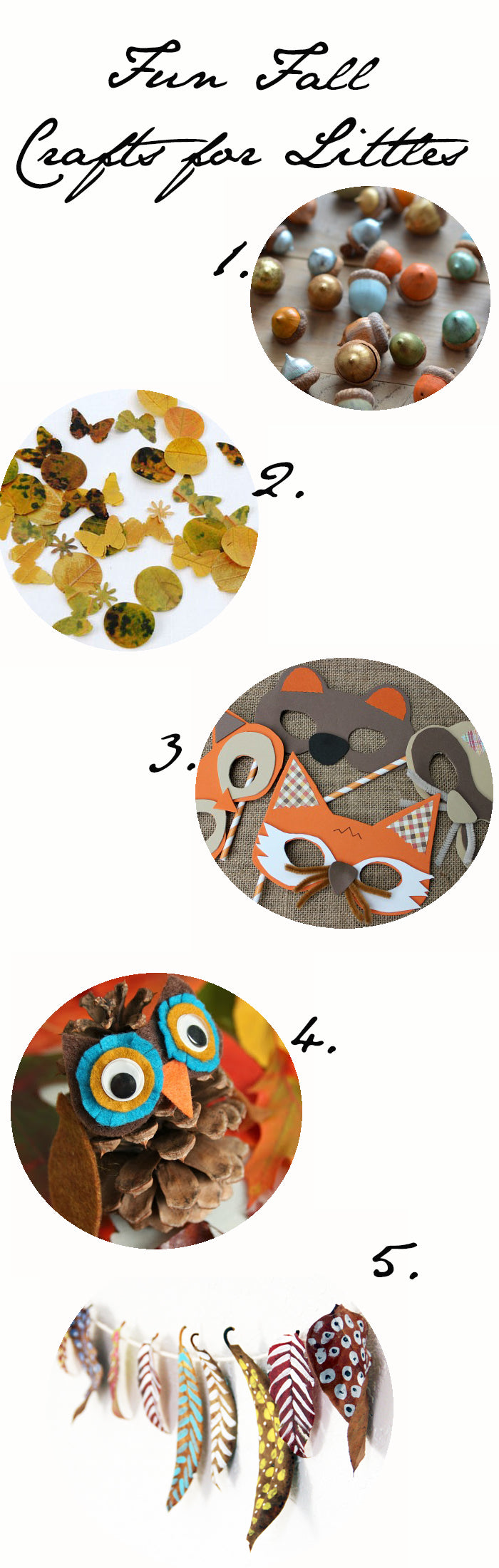 fall crafts for littles